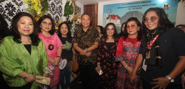 Tomohon Tampilkan Potensi Wisata di Sulut Expo 2019